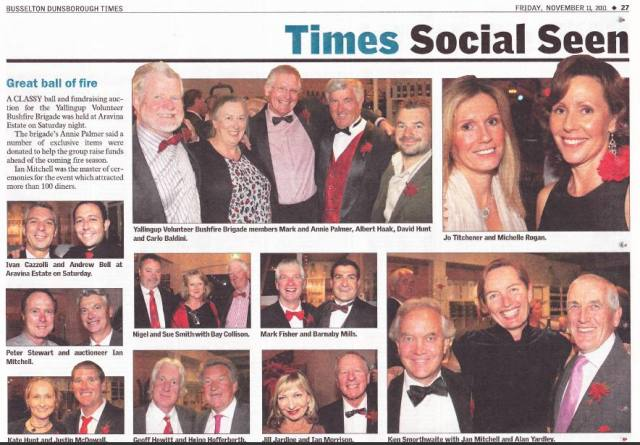 Press Coverage of 2011 Ball