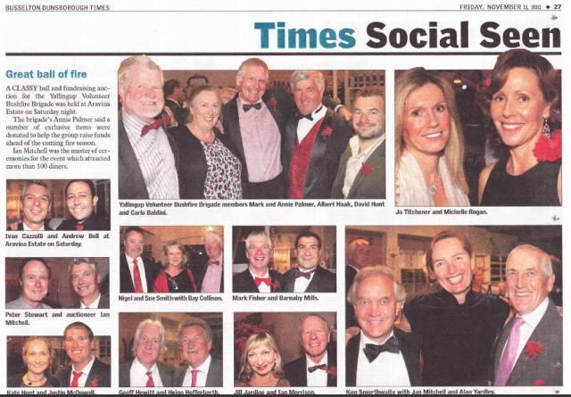 Press Coverage of 2011 Ball