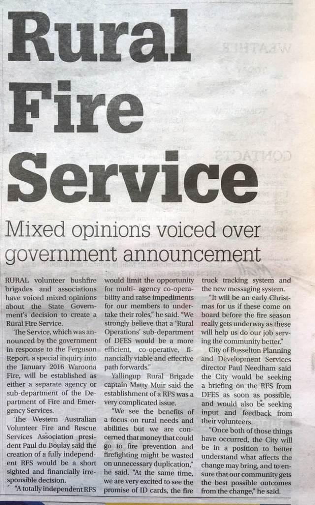 Busselton-Dunsborough Mail October 5, 2016