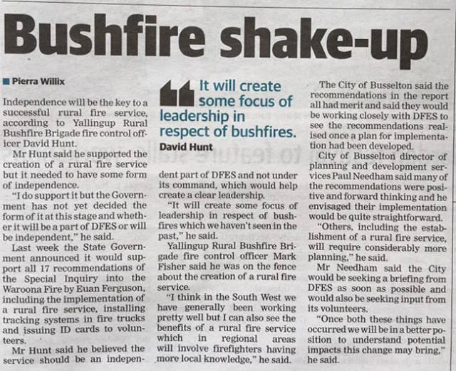 Busselton-Dunsborough Times October 7, 2016