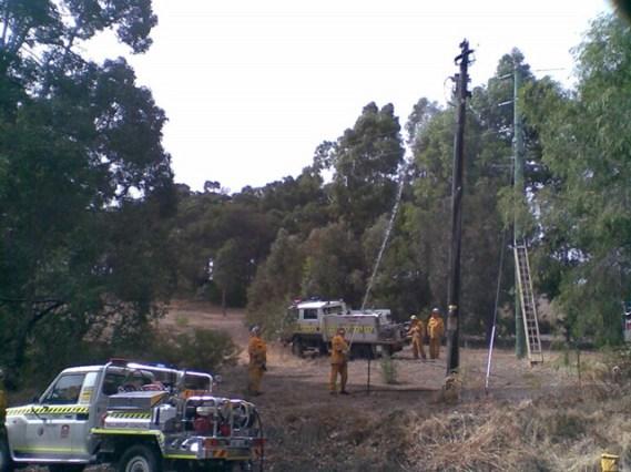 Pole Fire 2 April 2012