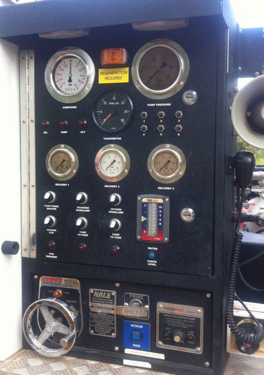 4.4 Pump Control Panel