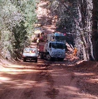 Hilly Terrain at Kangaroo Gully