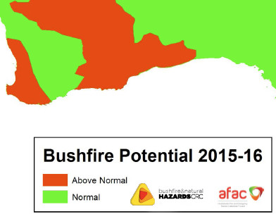 Bush Fire Potential 2015